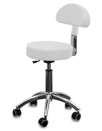 Pokrowce kosmetyczne na krzesełko AM-304 frotte białe