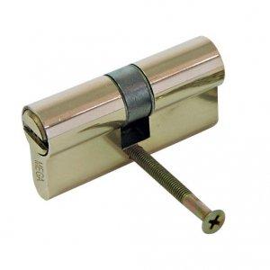 24666 Wkładka bębenkowa mosiężna security symetryczna 62 mm karta, Mega