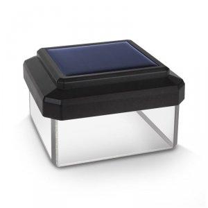 Lampa solarna LED na słupek GreenBlue, 60x40mm, daszek kopertowy, GB125