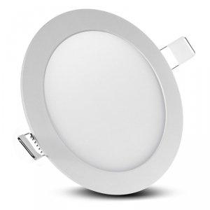 Panel LED sufitowy podtynkowy slim 12W Warm white 2800-3200K Led4U LD153W  Fi168*H12mm