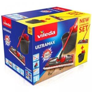 Zestaw mop płaski Vileda Ultramax box