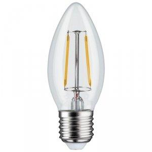 Żarówka LED Maclean, filamentowa E27, 6W, 230V, WW ciepła biała 3000K, 600lm, retro edison ozdobna świeczka C35, MCE265