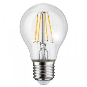 Żarówka Maclean, Filamentowa LED E27, 6W, 230V, WW ciepła biała 3000K, 600lm, Retro edison ozdobna A60, MCE267