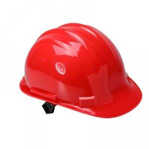 Hełm przemysłowy ochronny, czerwony, kat. iii, ce, lahti
