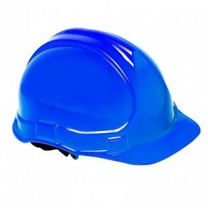 Hełm przemysłowy ochronny, niebieski , kat. iii, ce, lahti