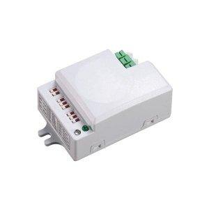 Mikrofalowy czujnik ruchu mini , 360/180st. z regulacją zworkową, IP20, 1200W