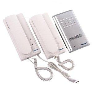 Zestaw domofonowy jednorodzinny z interkomem, podtynkowy, FOSSA INTERCOM