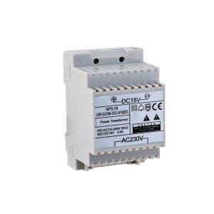 Zasilacz sieciowy 18VDC/650mA do domofonów z serii SAGITTA
