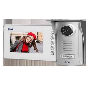 Zestaw wideodomofonowy bezsłuchawkowy, kolor LCD 4,3 z kamerą plastikową, AMMO