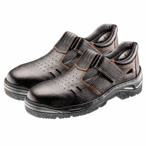 Sandały robocze S1 SRC, skórzane, rozmiar 40