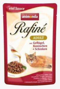 ANIMONDA Rafine Adult smak: drób, królik i szynka 100g