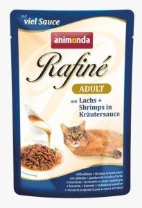 ANIMONDA Rafine Adult smak: łosoś i krewetki w sosie ziołowym 100g