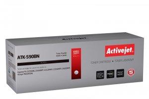 Toner Activejet ATK-590BN (zamiennik Kyocera TK-590BK; Supreme; 7000 stron; czarny)