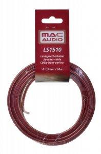 Zestaw kabli głośnikowych do Car HiFi 1.5 mm2 10.00 m Mac Audio MAC LS 1510