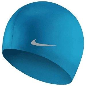Czepek plywacki Nike Os niebieski TESS0106-458