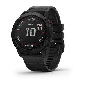 Zegarek sportowy Garmin Fenix 6X 010-02157-01 (kolor czarny)