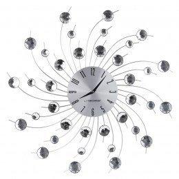 Zegar ścienny Esperanza Geneva EHC004 (kolor srebrny)