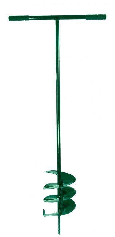 40126 Świder 250mm zielony rączki  ergonomiczne plastikowe