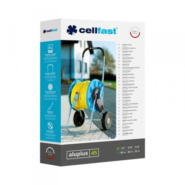 """Wózek na wąż Cellfast Aluplus 1/2"""" 45m"""