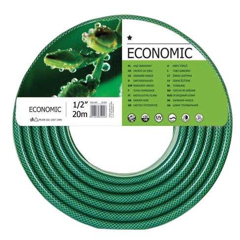 """CF10020R Wąż ogrodowy z PCW fi=3/4"""", długość 20m rolka, Economic"""