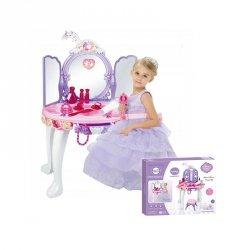WOOPIE Interaktywna Toaletka Dla Dziewczynki MP3 Różdżka Suszarka +  Akc.