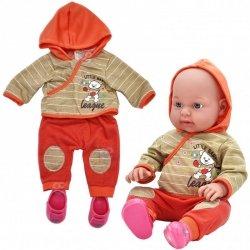 WOOPIE Ubranko dla Lalki Kurteczka z Kapturem Buciki 43-46 cm