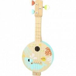 TOOKY TOY Drewniane Banjo Nauka Gry Dla Dzieci z Motywem Morza