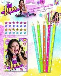 Zestaw kredek fluorescencyjnych Soy Luna