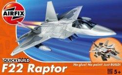 Model plastikowy QUICKBUILD F-22 Raptor