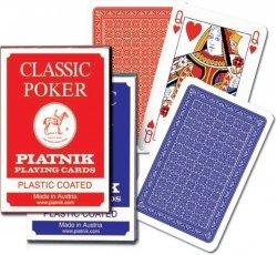 Karty Classic Poker Ekstra talia 55 kart