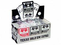 Karty poker Texas PC PEEK czerwone