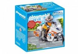 Zestaw z figurkami City Life 70051 Motocykl ratowniczy ze światłem