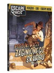 Książka Gra Escape Quest Poszukiwacze zaginionego skarbu