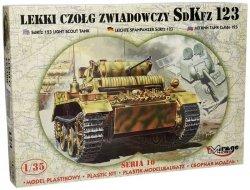 Model do sklejania Lekki czołg zwiadowczy SDKFZ 123