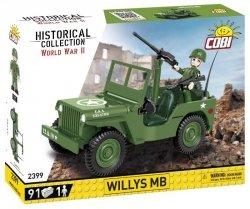 Klocki Willys MB 1/4 Ton 4x4
