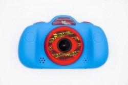Cyfrowy aparat fotograficzny dwa obiektywy Hot Wheels