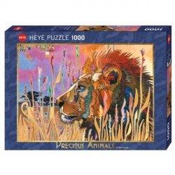 Puzzle 1000 elementów Król zwierząt