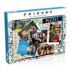 Puzzle 1000 elementów Przyjaciele Scrapbook