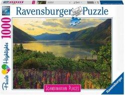 Puzlzle 1000 elementów  Skandynawskie Krajobrazy 2