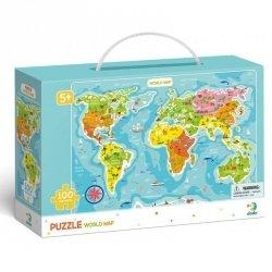 Dodo Puzzle Mapa Świata