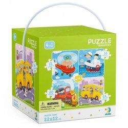 Dodo Puzzle 4w1 Transport