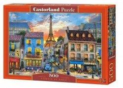 Puzzle 500 elementów Ulice Paryża