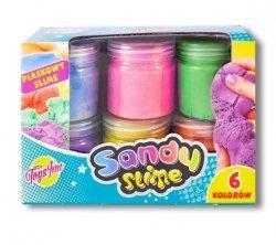 Sandy Slime Zestaw masa plastyczna 6 kolorów