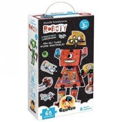 Puzzle kreatywne - Roboty