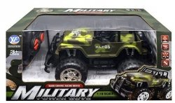 Samochód RC Jeep wojskowy z ładowarką