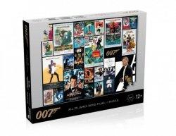 Puzzle James Bond 007 Posters 1000