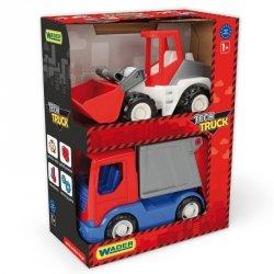 Tech Truck Auta budowlane - Śmieciarka i ładowarka