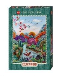 Puzzle 500 elementów Egzotyczny ogród, Raj