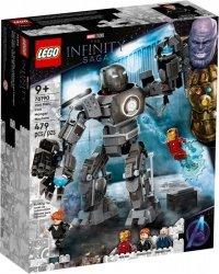Klocki Super Heroes 76190 Iron Man: zadyma z Iron Mongerem