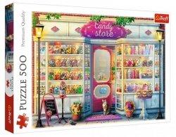 Puzzle 500 elementów Sklepik ze słodyczami